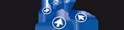 Rijschool Rob & Nel – Autorijschool Borculo, Ruurlo, Neede, Eibergen – Berkelland Logo